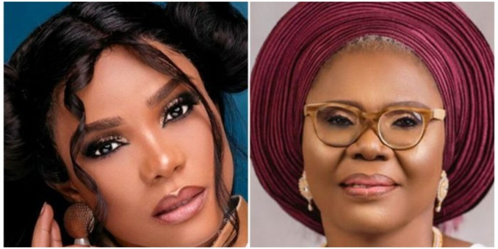 This is How You Said Goodbye?- Actress Iyabo Ojo Breaks Down After Her Mom Died In Her Sleep