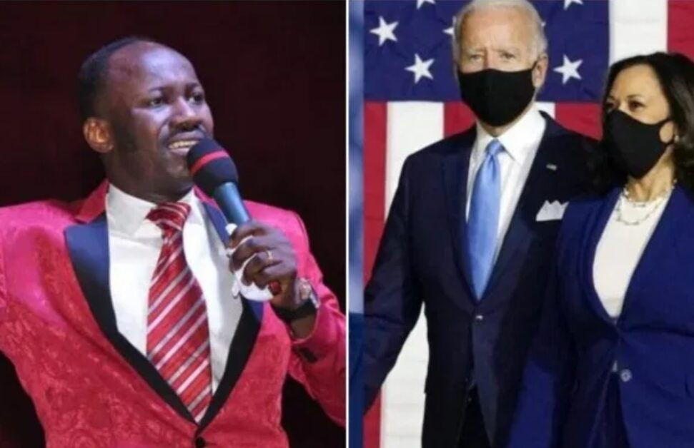 Johnson Suleman Reveals The Bad Thing That Would Happen To US President-Elect Joe Biden, Kamala After Trump Leaves Office