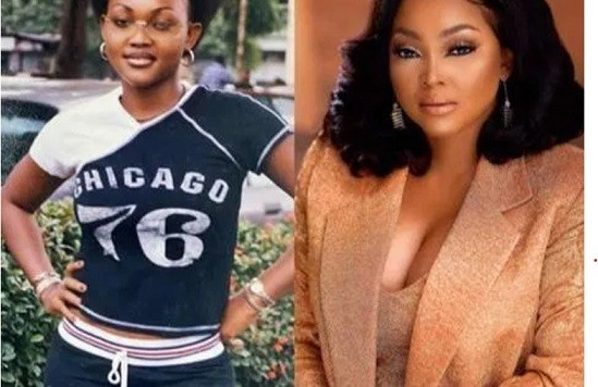 Nobody Is Ugly: See Throwback Photos Of Mercy Aigbe That Proves That Money Answers ALL Things
