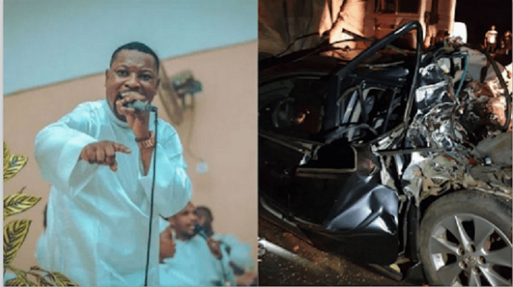 Nigerian Gospel Artist Dare Melody Rejoices As He Survived A Ghastly Accident This Morning