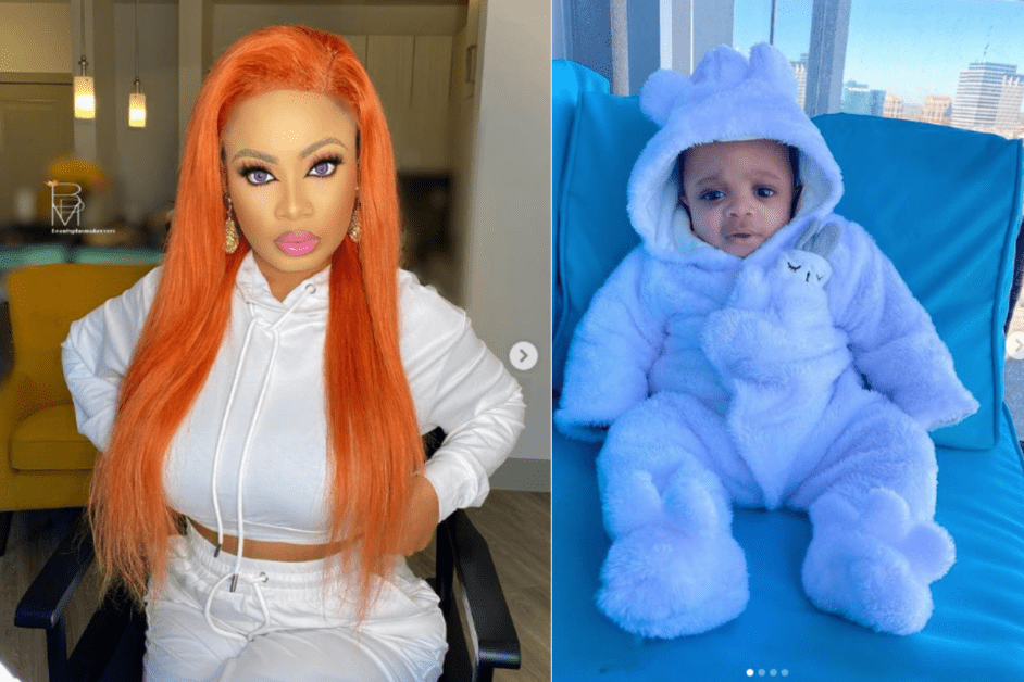 BBNaija Star, Nina Shares Lovely Pictures of Her Baby Boy, Denzel
