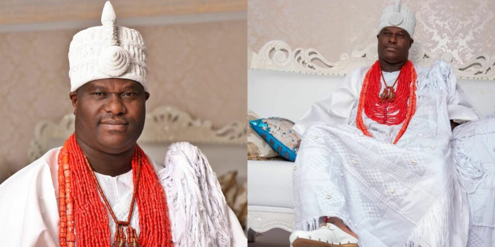 WHY Ooni of Ife May Not See His New Baby Until February 2021