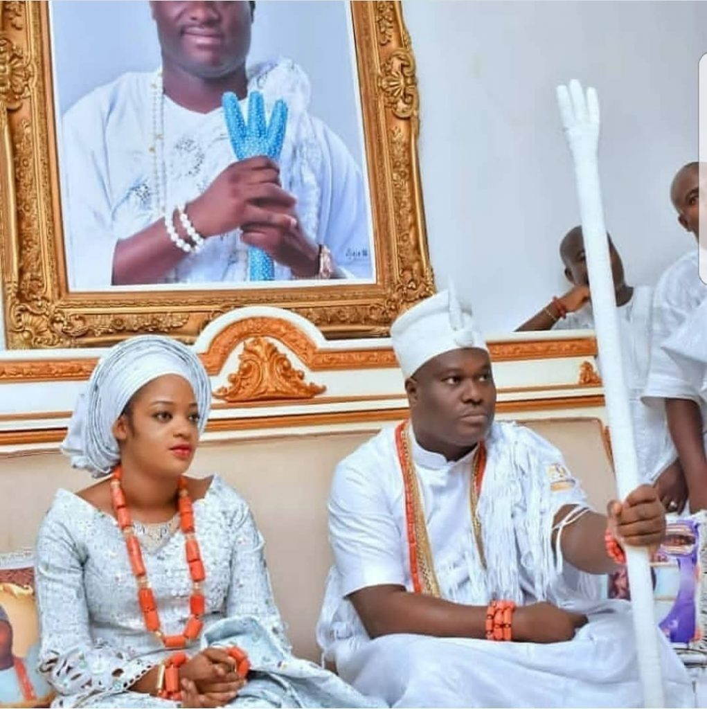 Watch Colorful Videos from the traditional naming ceremony of Ooni of Ife's son, Adesoji Aderemi (VIDEO)