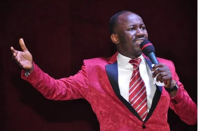 How Apostle Suleman's Spiritual Son 'Supernaturally Landed In France From Germany' Without Documents or Ticket, SEE What He Did (VIDEO)