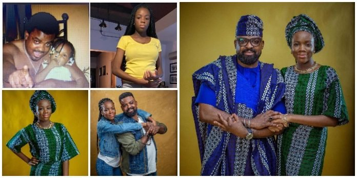 """My darling and caring daughter ""Madam Darasimi"" like we fondly called her is 14 today"" Kunle Afolayan's pretty daughter Darasimi turns 14 (Pics)"