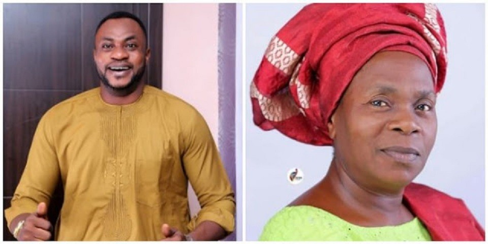 Meet Deaconess F.A Adekola The Mother Of Popular Yoruba Actor Odunlade Adekola.