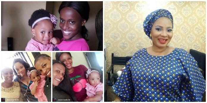 Meet the Second Child Late Moji Olaiya had before she Died of Cardiac Arrest in Canada (PHOTOS)
