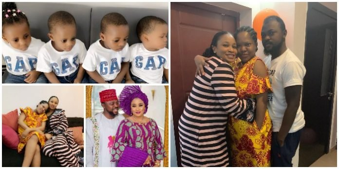 MEET The Sister-Inlaw Of Actress, Toyin Abraham Who Gave Birth To Quadruplet