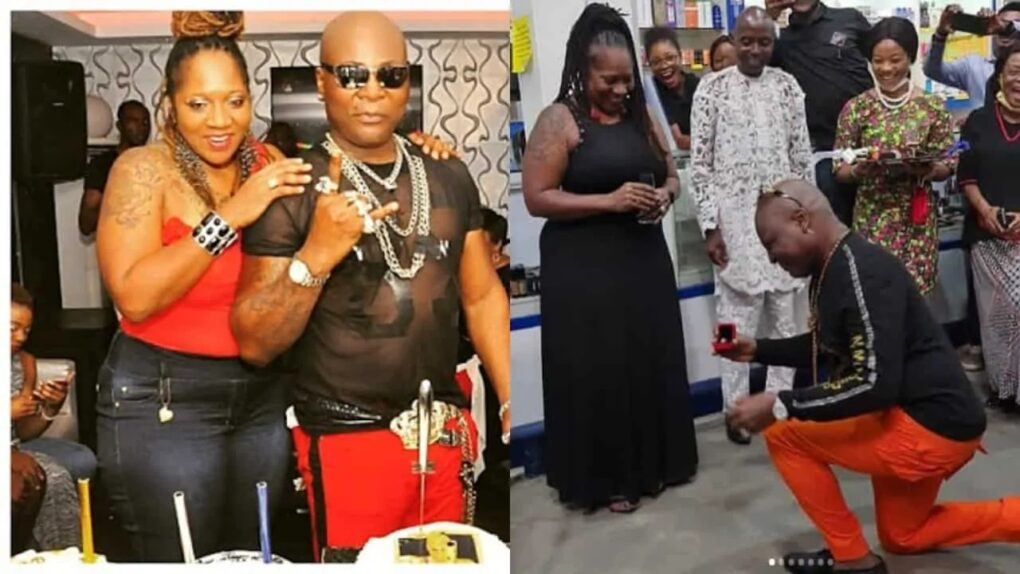 For the 4th time in 45 years, Charly boy proposes to his wife again