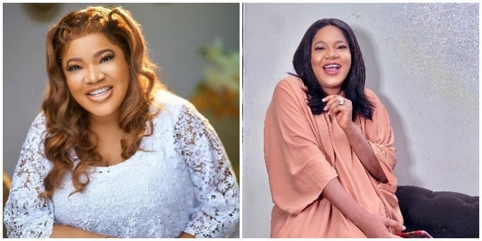 From Selling and Hawking Plantain chips As A Child To Best Actress, The Story of Toyin Abraham most people do not Know