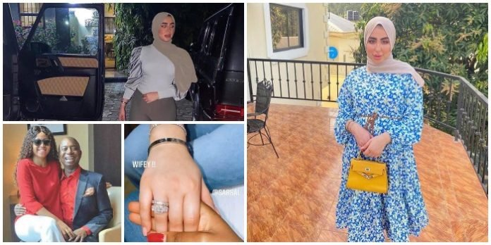 Regina Daniels Finally reacts to the news of her Husband, Ned Nwoko getting Engaged to a UK-Based Arabian lady and making the lady the 7th Wife – Here is what she said