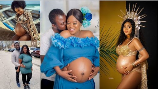 Checkout 5 Nollywood Actresses Who Shows Off Their Baby Bump During Pregnancy. (Photos)