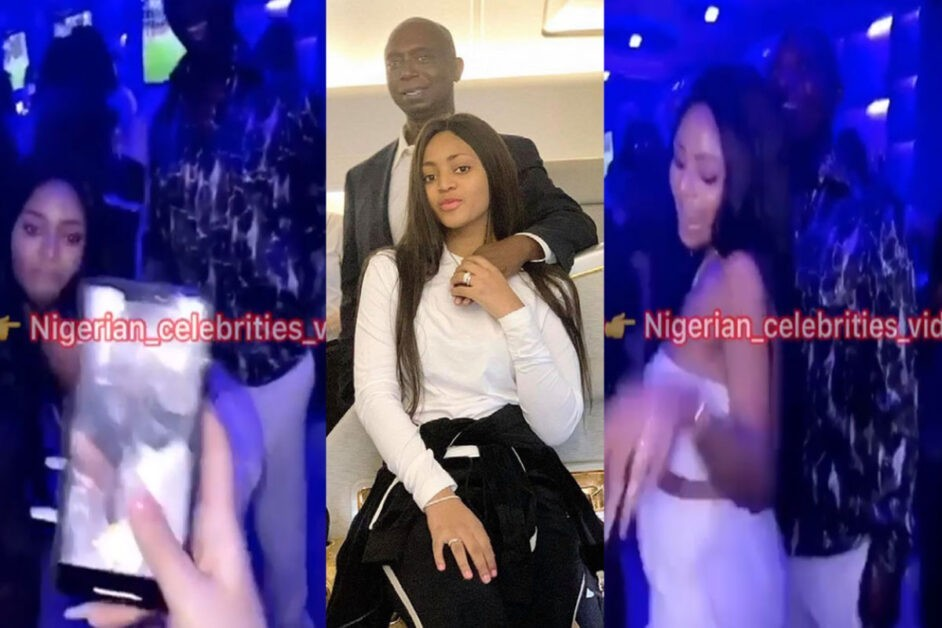 """Regina Daniels Is At It Again"" – Check Out What She Did To Her Husband That Got People Talking"