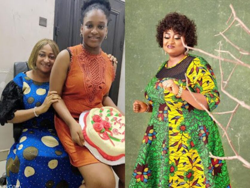 See How Actress Ronke Oshodi celebrate Her Daughter As She Clocks 12-years Old