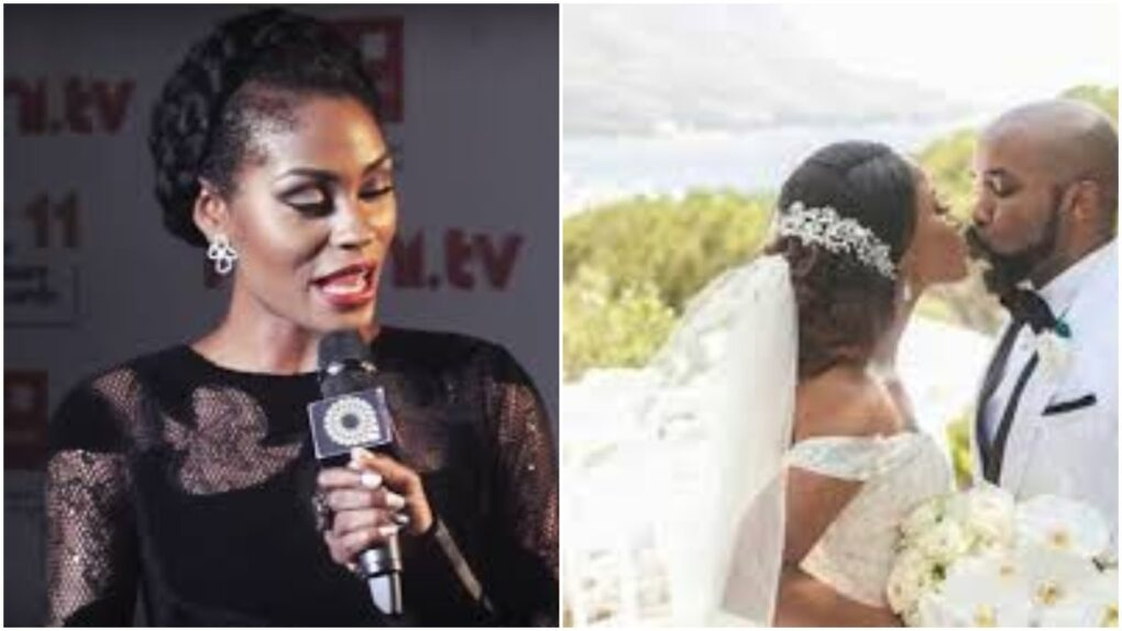 """My baby is now cancer free"" Actress Somkele recounts receiving tragic call at Banky W and Adesua's white wedding"