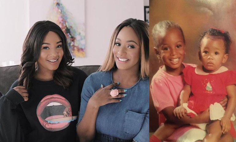 Throwback Photo Of Billionaire, Otedola's Daughters, Temi And DJ Cuppy Melt Hearts