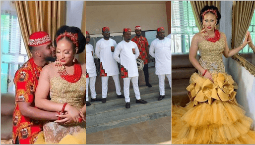 Beautiful Moments From Nollywood Actor Williams Uchemba's Traditional Marriage. (Photos)
