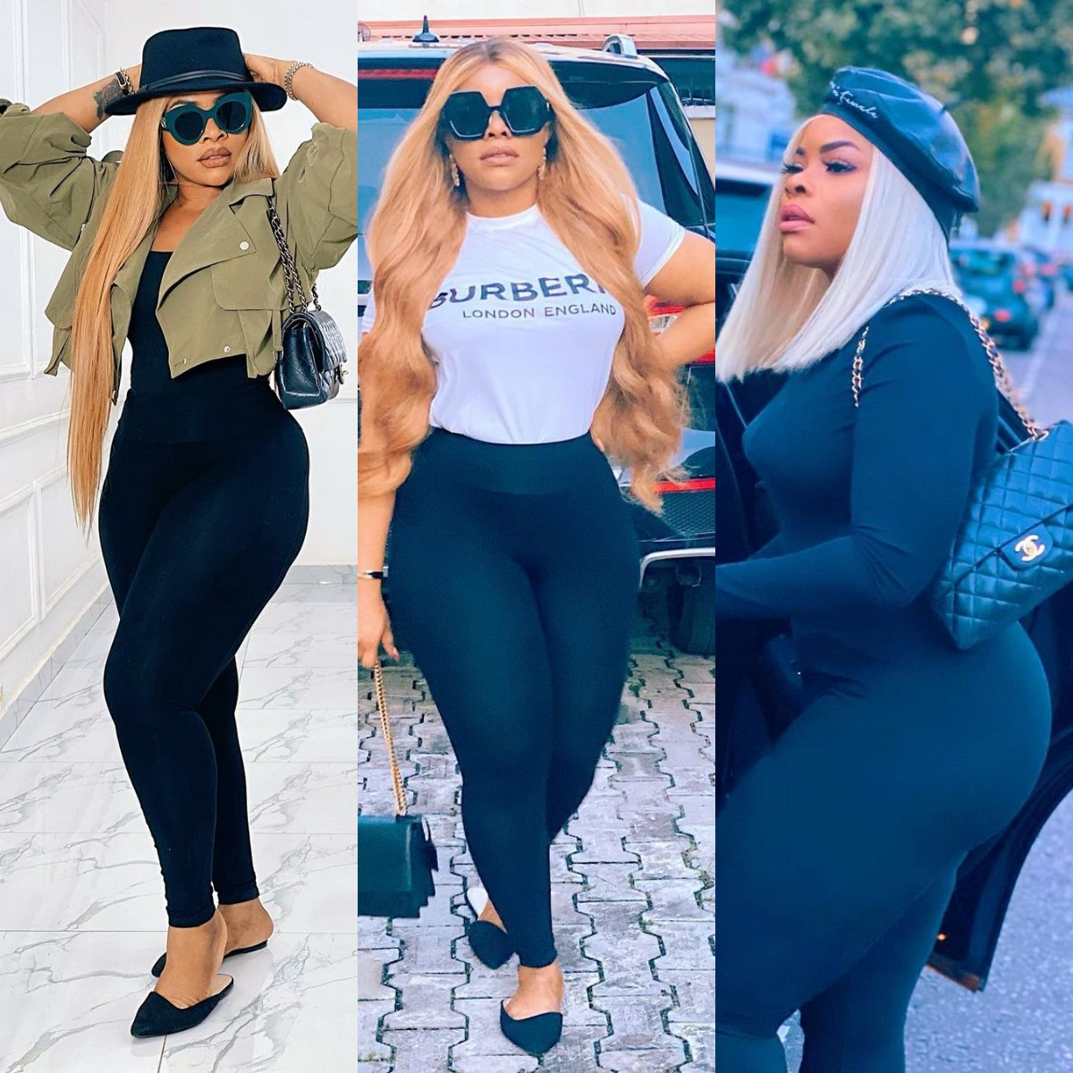 See Linda Ikeji's Beautiful Sister Laura Ikeji Flaunts Her Natural Curves In New Photos, Fans Goes Haywire