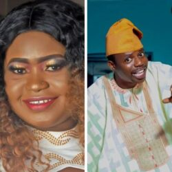 Comic Actor, Okele's Wife Is A Year Older Today. See His Adorable Message he sent to her and photo