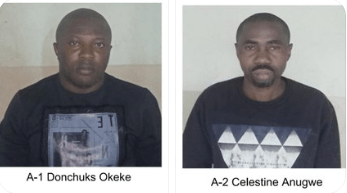 Two Nigerian men arrested in India with drugs worth over N51m