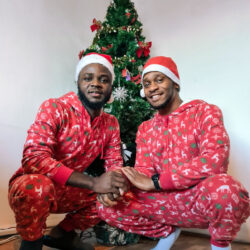 Gay Nigerian man shares 'How it started Vs How it is going' with his boyfriend