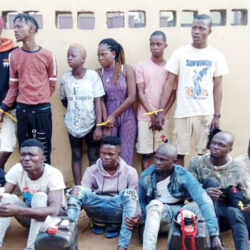 Police arrest 15 suspected cultists and robbers in Lagos