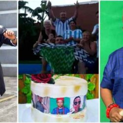 Argentinian fans celebrate Nollywood actor Chinedu Ikedieze as he clocks 43 [video]