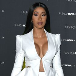 WATCH As Cardi B Causes Confusion With Her Sweet Dance Moves While Rocking Her Gele (Video)