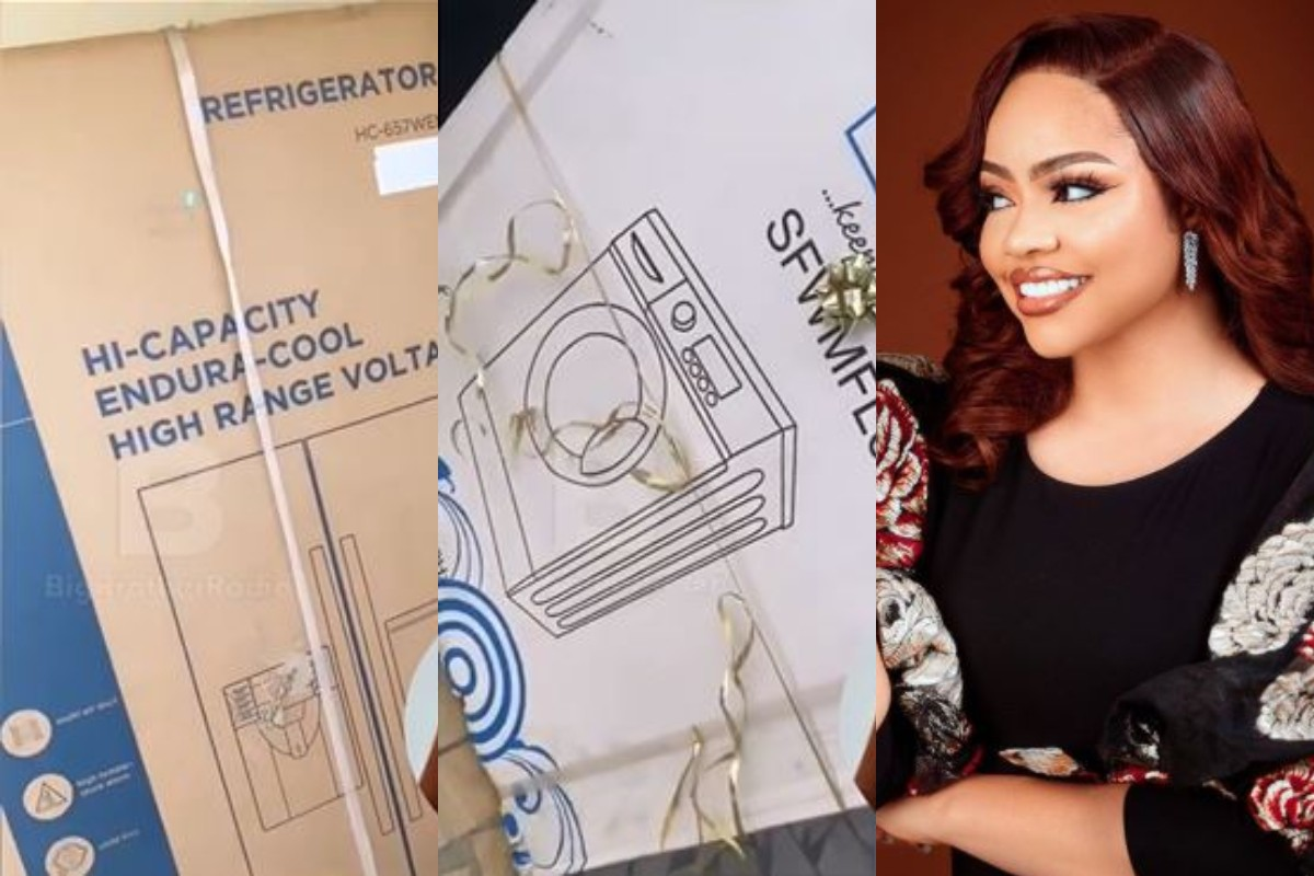 Nengi Shows Off The Expensive Household Items Gifted By Her Fans For Her New Lagos Apartment (Video)
