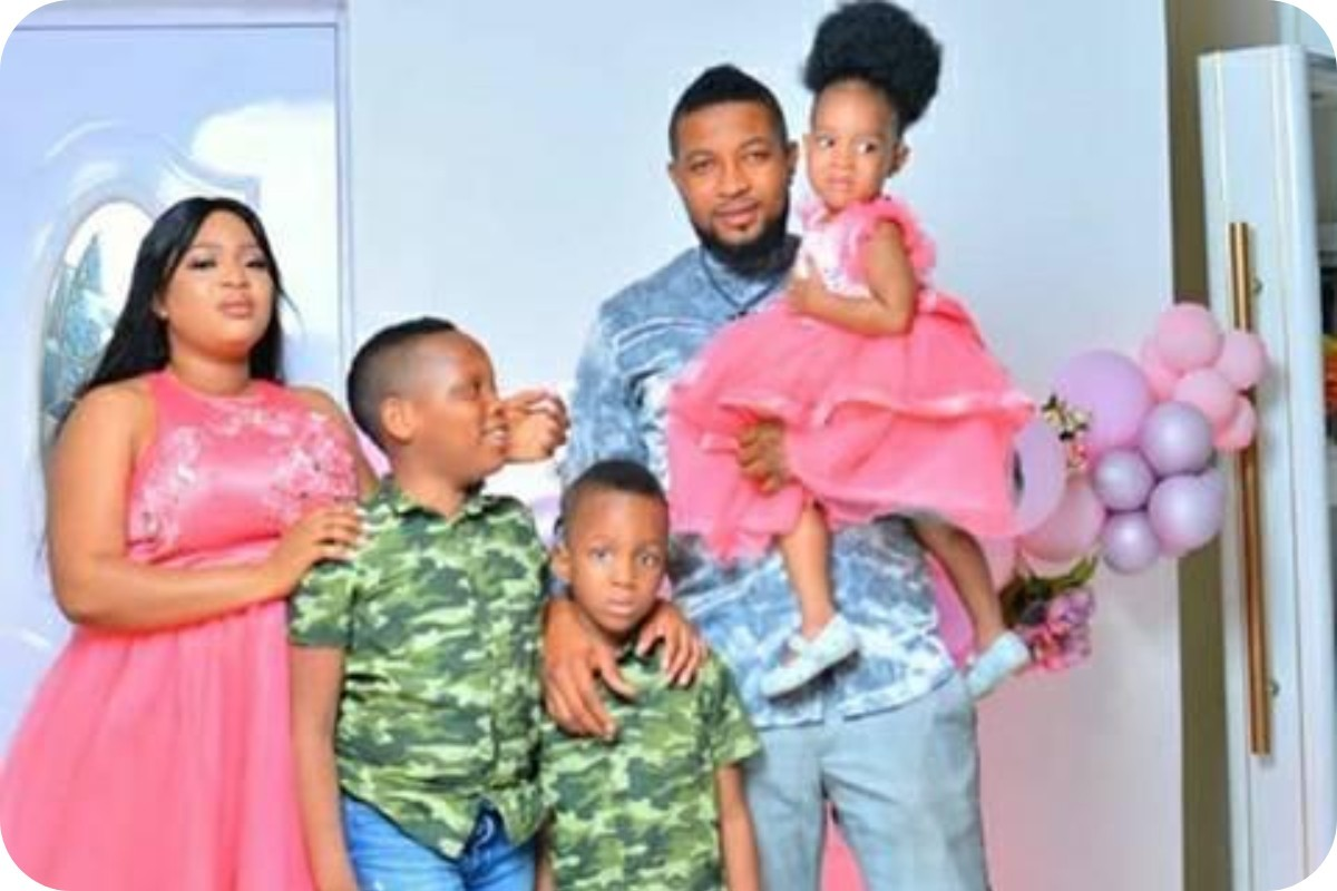 Actor, Badaiki Shaggy And Wife Celebrate 10th Wedding Anniversary