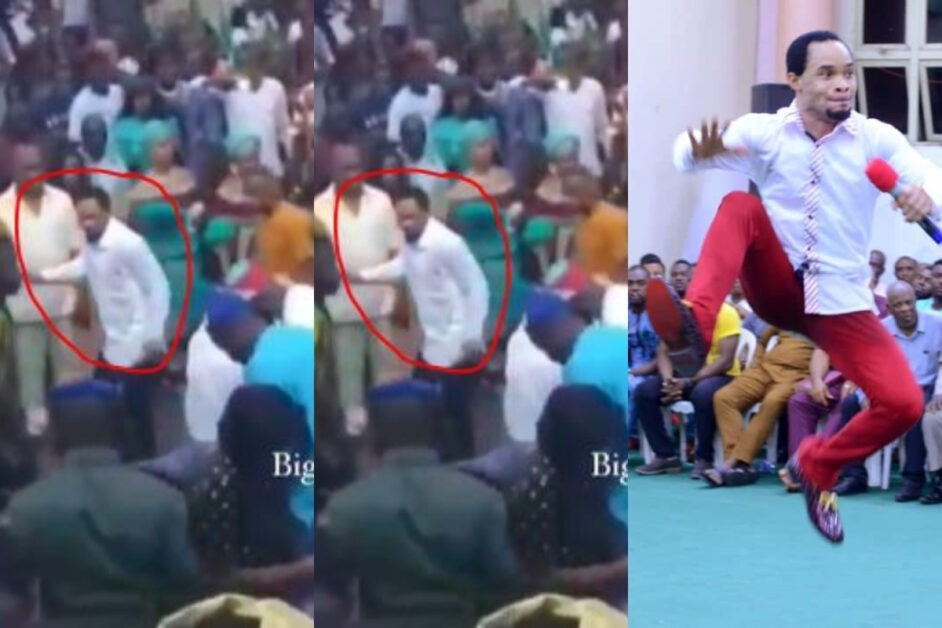 """Odumeje, Why Are You Running"" – Nigerians React After Seeing Him Run Away From Spraying Cash Competition At An Event (Video)"