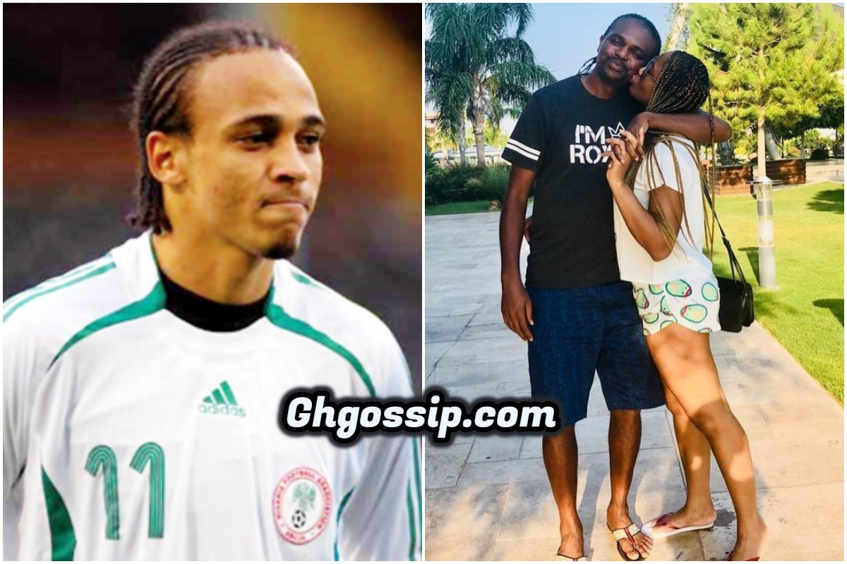 Nigerian Legendary Player Nwankwo Kanu Responds To Osaze After Accusing His Wife Amara Of Chasing Him In His DM
