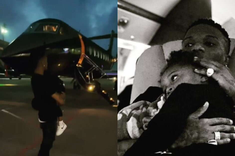 Wizkid Finally Flies Back To Nigeria After A Long Stay In UK (Video)