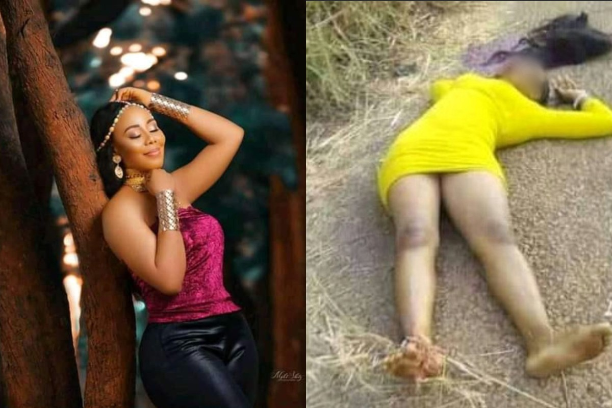 Beautiful Nigerian Lady & Her Fiancee Reportedly Shot Dead By Suspected Cultists In Ebonyi State
