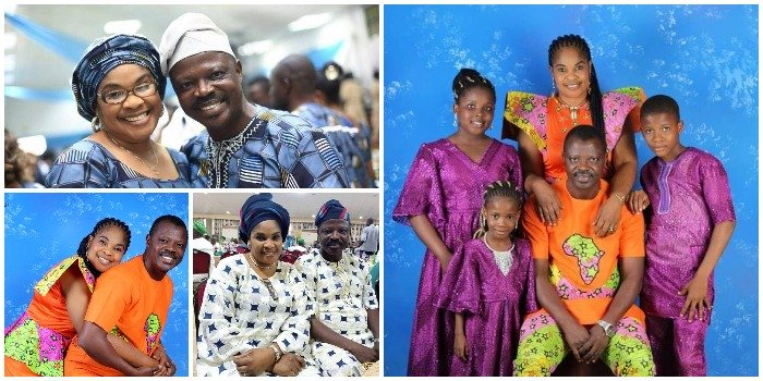 17 year's of Marriage and still counting; Meet Moji Afolayan & Rasaq Olayiwola, one of the rare couples in Yoruba movie industry,How they Met, why they don't party, their children and much more (PICS)