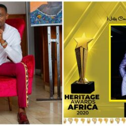 Nollywood Actor Lateef Adedimeji says as he win the Best Actor of the year (photo)