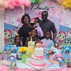Adorable Photos And Videos Of Mercy Johnson's Daughter's Birthday