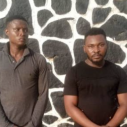 Two Guys Arrested For Gang-Raping Teenager & Threatening To Post Video In Ogun State