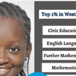 Young Nigerian Girl Go Viral After Obtaining 9A1s In Her WAEC Exam
