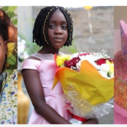 'God Did Not Put Me To Shame' – Mercy Johnson Says As Her First Child, Purity Clocks 8 (video)