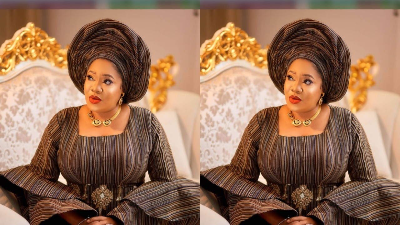 Toyin Abraham causes traffic on Instagram with latest photos