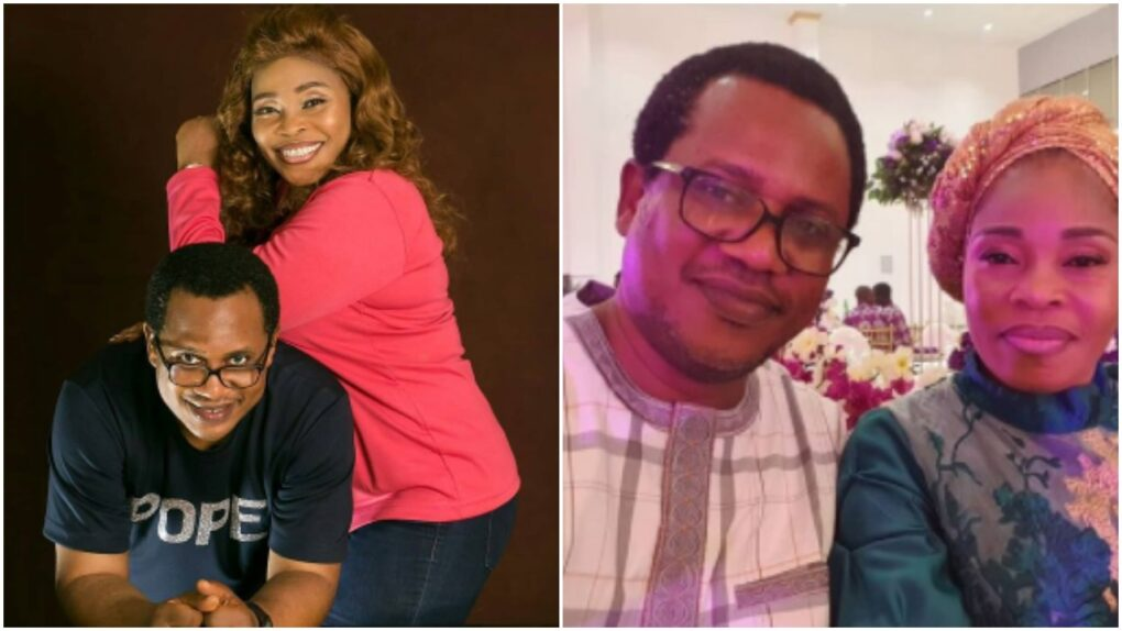 Tope Alabi declares love for husband amidst paternity scandal