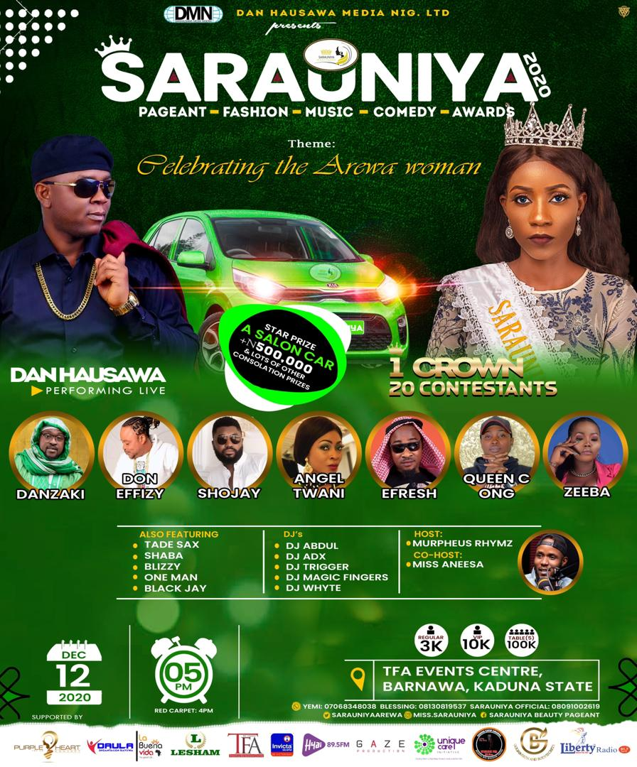 Meet the last 18 Contenders of Sarauniya Beauty Pageant (The biggest Beauty Pageantry in Northern Nigeria)
