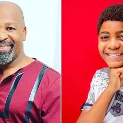 (PHOTOS): VETERAN ACTOR, YEMI SOLADE CELEBRATES SON ON HIS 12TH BIRTHDAY