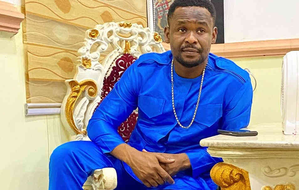 Zubby Michael wins 'Best Actor of the Year' award