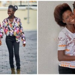 """""""A great step mom"""" – The powerful and unbreakable bond between Toyin Abraham and her step daughter, Temitope Ajeyemi as they step out wearing matching Clothes (PICS)"""