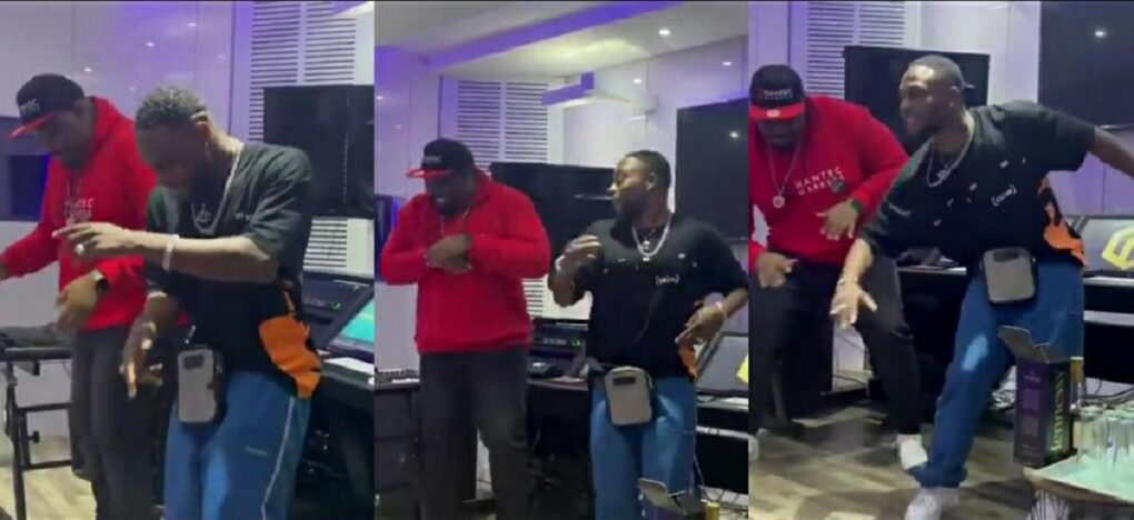 Don Jazzy In A Dance Competition With Singer LAX – Who Won (Video)