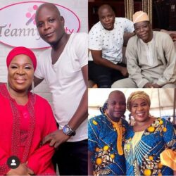 Meet Fausat Balogun (Madam Saje), Her Husband and Children who are also Actors