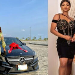 Priscilla, The Pretty 19-Years Old Daughter Of Iyabo Ojo, Shows Off Her Boyfriend.