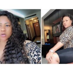 'Unfortunate people' – Actress, Nkechi Blessing curse ladies accusing her of sleeping with men for money